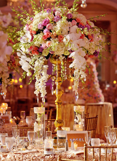 Wedding reception flower decoration Ideas DE Wedding Flowers