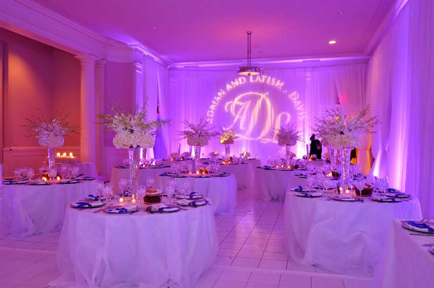 Pipe and Drape Decoration | Wedding Pipe & Drape Decor